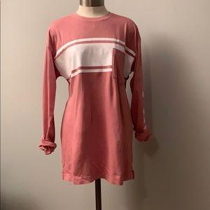 PINK long sleeve tunic